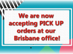PICK UP service is now available in Brisbane!