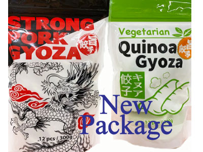 Renewal Package Gyoza available now