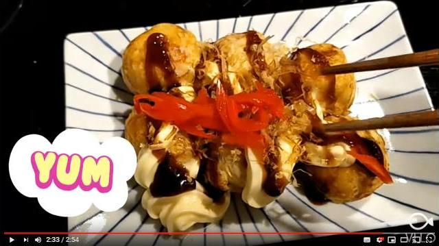 Takoyaki at home♪