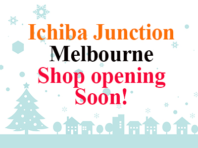 Ichiba Shop in Balwyn Opening on 18th January!!