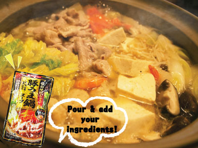 "Let's warm up with ""Daisho Hot Pot Soups"" from Japan♪-SALE until 15/06/2019-"