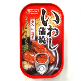 Nissui Iwashi Kaba Yaki (Grilled Sardine with Soy Sauce Based Sauce) Can 100g