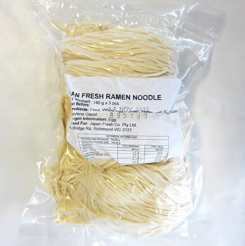 Japan Fresh Ramen Noodles 140gx3pcs