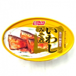 Nissui Iwashi Misoni (Cooked Sardine with Miso) Can 100g