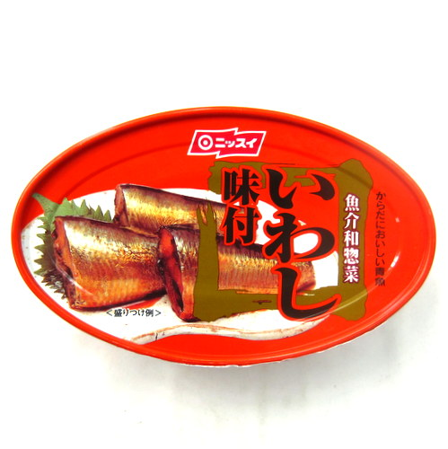 Nissui Iwashi Ajitsuke (Cooked Sardine with Sweet Soy Sauce) Can 100g