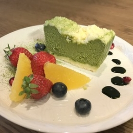 UMAMI Matcha Cheese Cake 600g(5 serves)
