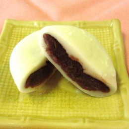Shiro Daifuku (Rice Cake with Red Beans)90g