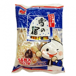 Sanko Yuki no Yado Milky Rice Crackers 2x7p
