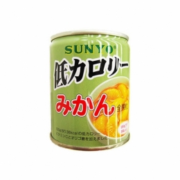 Sunyo Low Calorie Mikan (Mandarine Orange) Can 230g
