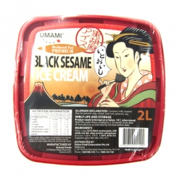UMAMI Black Sesame Ice Cream 2L