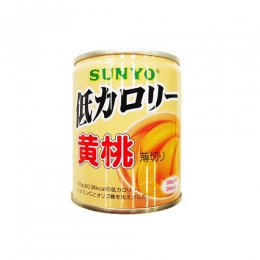 Sunyo Low Calorie Outo(Yellow Peach) Can 230g