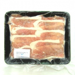 Pork Loin Slices 500g