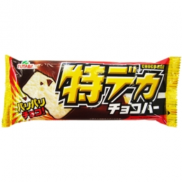 Futaba Tokudeka Choco Bar(Vanilla Ice Cream with Chocolate Coating)