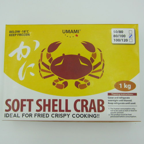UMAMI Soft Shell Crab 80/100 1kg