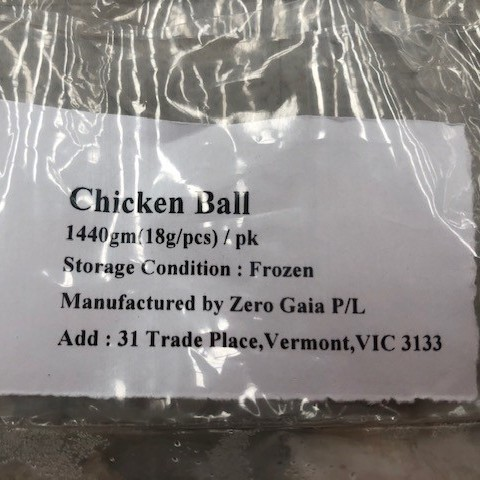 Chicken Balls 80pcs