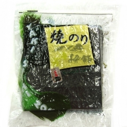 Korean Roasted Sushi Nori (Seaweed) Full Size 100 sheets 280g