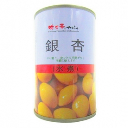 Ginkgo nuts in Water (Ginnan) 180g