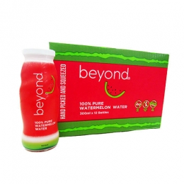 beyond 100% Pure Watermelon Water 300mlx12 bottles