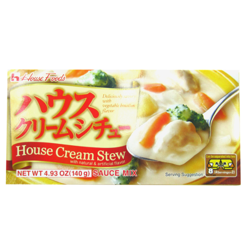 House Cream Stew Cubes 140g (4 Servings x 2)