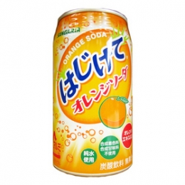 350gx1can Sangaria Hajikete Orange Soda