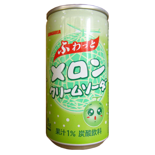 190gx1can Sangaria Fuwatto Melon Cream Soda
