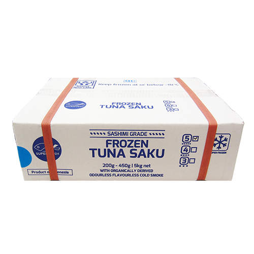 5 star Yellow Fin Tuna Saku(Fillets) 5kg