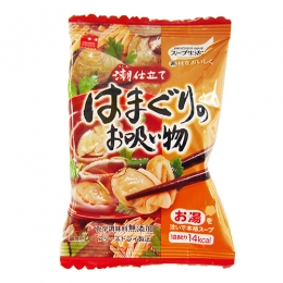 Freeze Dried Hamaguri (Hard Shell Clams) Soup 1 serve