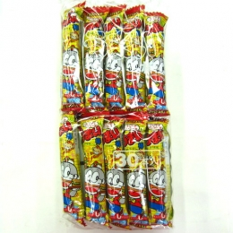 Umaibou Teriyaki Burger Flavour(Corn Snack Sticks) 6gx30p