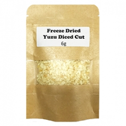 Freeze Dried Yuzu Diced Cut 6g