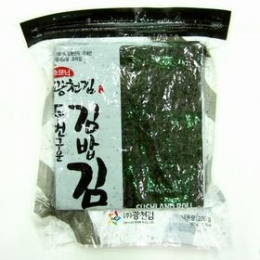 Korean Sushi Nori (Roasted Seaweed) Full Size 100 sheets 200g