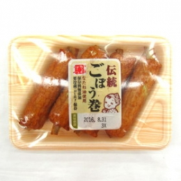 Kanetetsu Delica Foods Dentou Gobou Maki (Fish Cake Stick with Burdock) 30gx4p