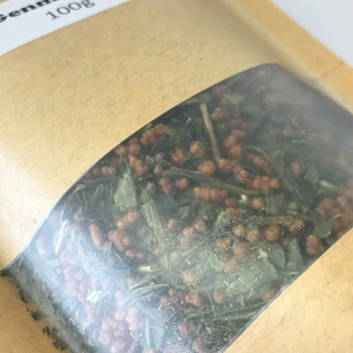Genmaicha (Dried Green Tea with Roasted Rice) 100g