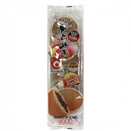 Dorayaki with Tsubu An (Pan Cake with Red Bean) 6p