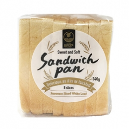 White Bread (Sandwich Pan) 8 slices