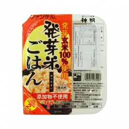 FANCL Hatsuga Genmai(Semi Cooked 100% Japanese Germinated Brown Rice) 160g
