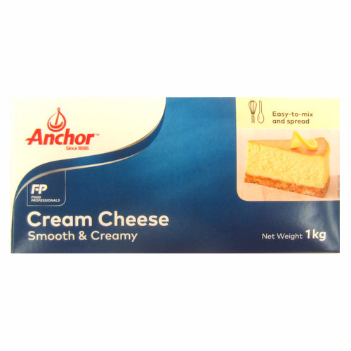 *Anchor Cream Cheese 1kg