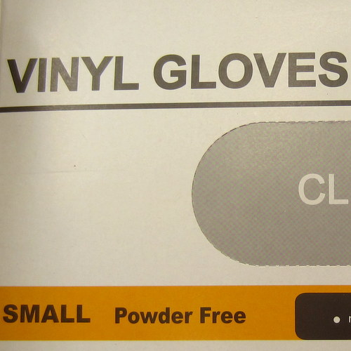 Disposable Gloves Small Size (Powder Free) 100pcs