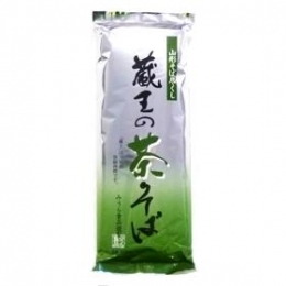 Zao Green Tea Soba 500g (Dried Buckwheat Noodle)