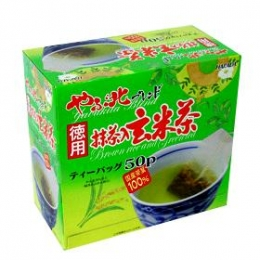 Yabukita Genmaicha with Green Tea Powder Tea Bags 50bags