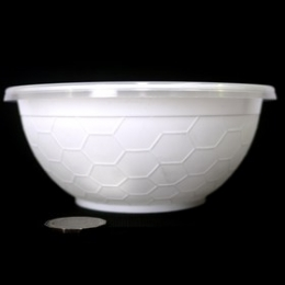 Donburi Bowl White 1050ml (Base + Lids) 50p sets