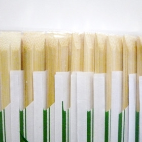 Bamboo Chopsticks 24cm with Cover 100 pairs