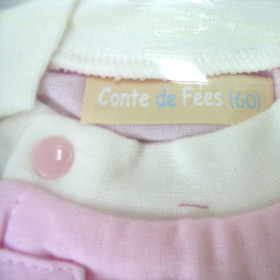 Pyjamas with short sleeves and front zipper Pink