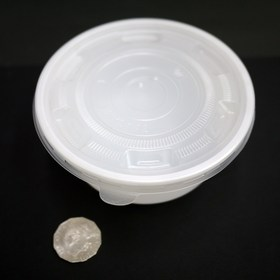 Donburi Bowl White 700ml (Base + Lids) 50 sets
