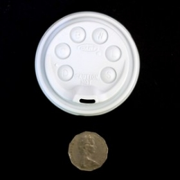 Foam Cup 8oz (Lids) 100pcs