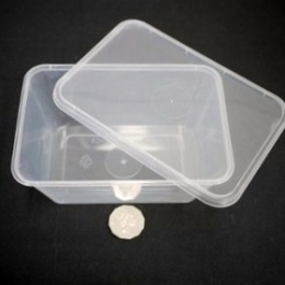 G-1000ml Clear (Base + Lids) 50 sets