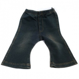 Stretchable Denim Knit Spats Size 90