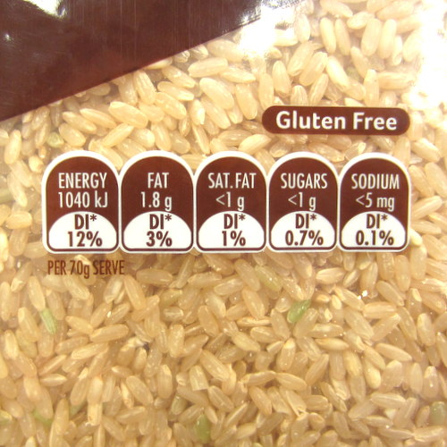 Sun Rice Brown Rice 2kg