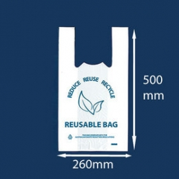 Carry Bag Reusable Medium 40um 100pcs