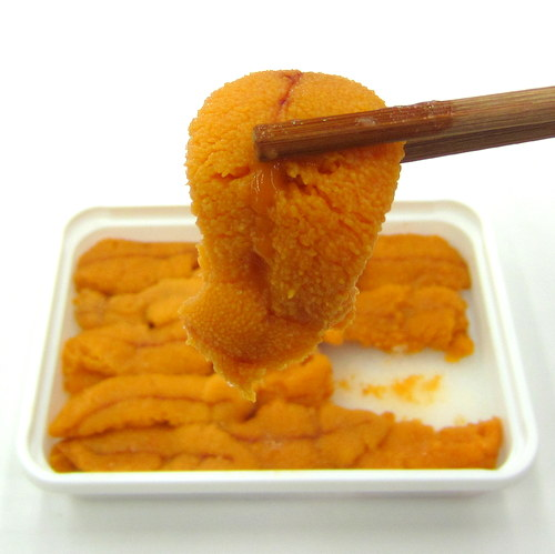 Frozen Uni (Sea Urchin) for Sashimi 100g