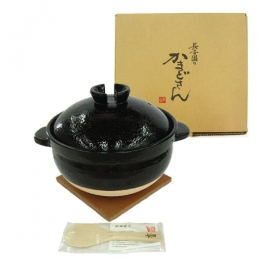 Kamadosan (Japanese Porcelain Rice Cooking Pot) for 5 cups